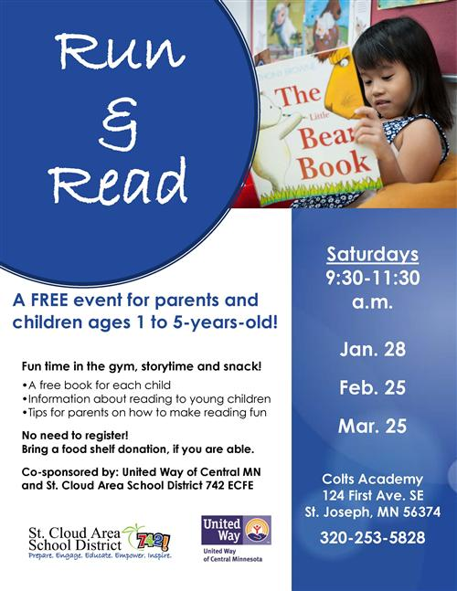 Run and Read Event