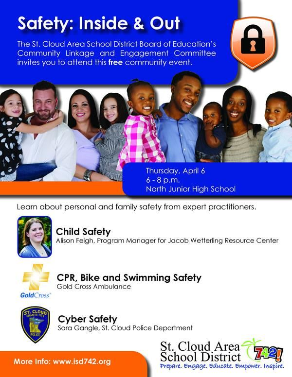 Safety: Inside and Out Flyer