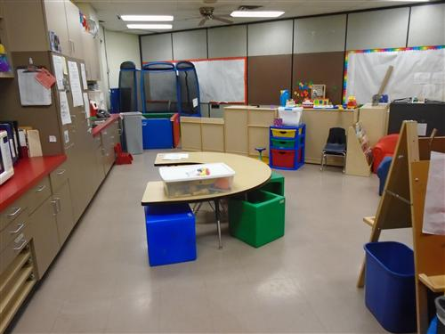 Here is our classroom