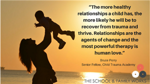 Relationships, a key protective factor.