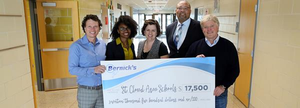 McKinley-ALC Awarded a Bernick's Family Foundation Grant