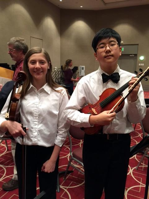 Students Perform With MNSOTA Middle Level Honors Orchestra