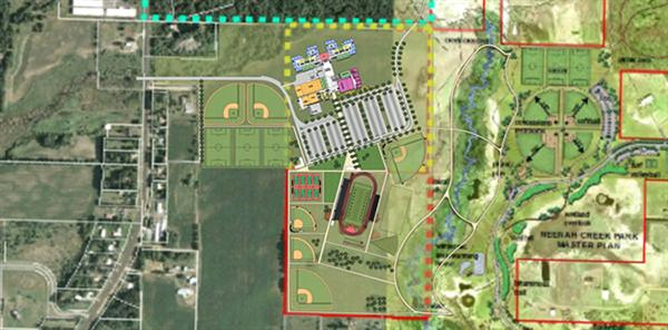 Updated Schematic Image - New Tech High School Plan